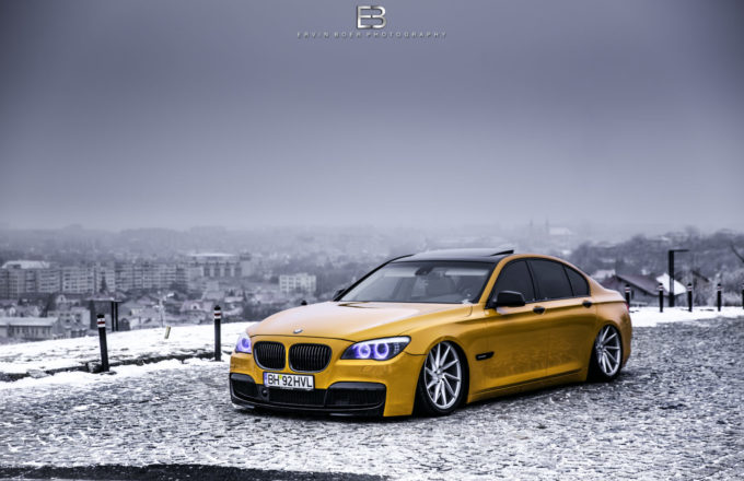 Bagged BMW 730 2