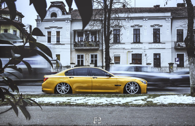 Bagged BMW 730